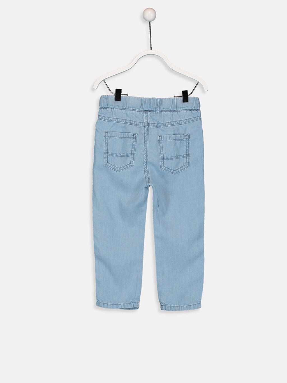 %100 Lyocell Astarsız Jean Erkek Bebek Jean Pantolon