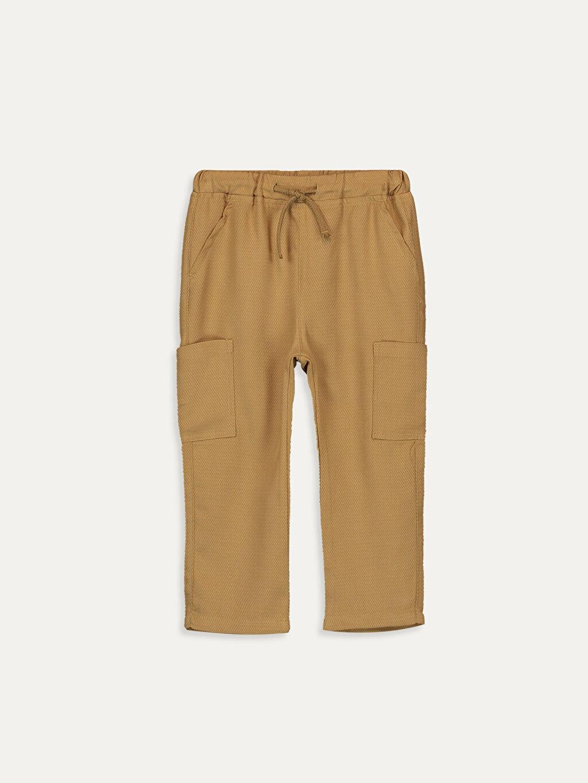 Kahverengi Erkek Bebek Harem Pantolon 9SC050Z1 LC Waikiki