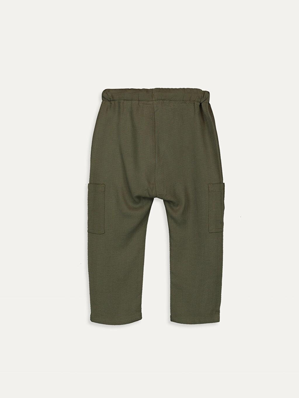 %100 Tencel Bol Astarsız Pantolon Düz Aksesuarsız Erkek Bebek Harem Pantolon