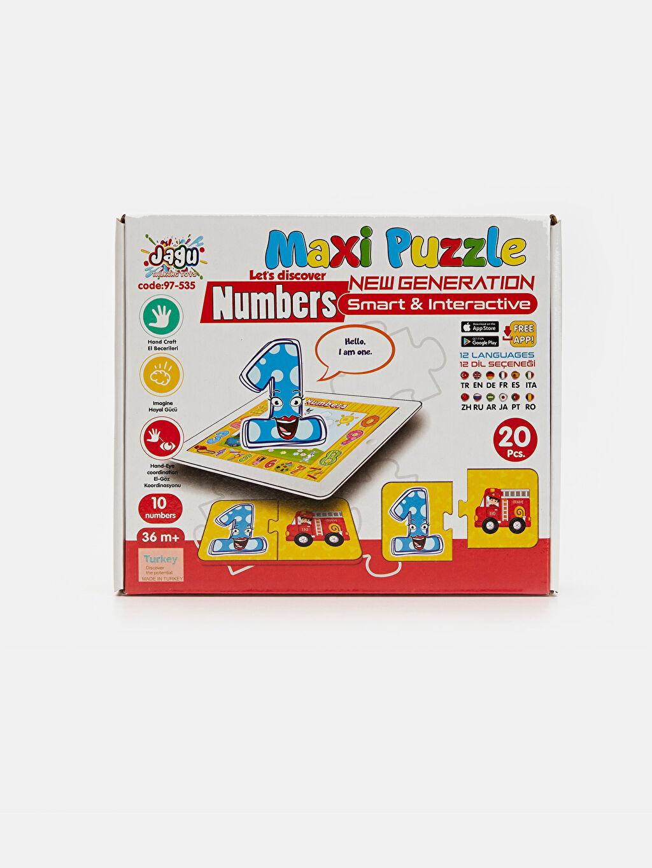 Beyaz Eğitici Oyuncak Puzzle         9SC820Z1 LC Waikiki