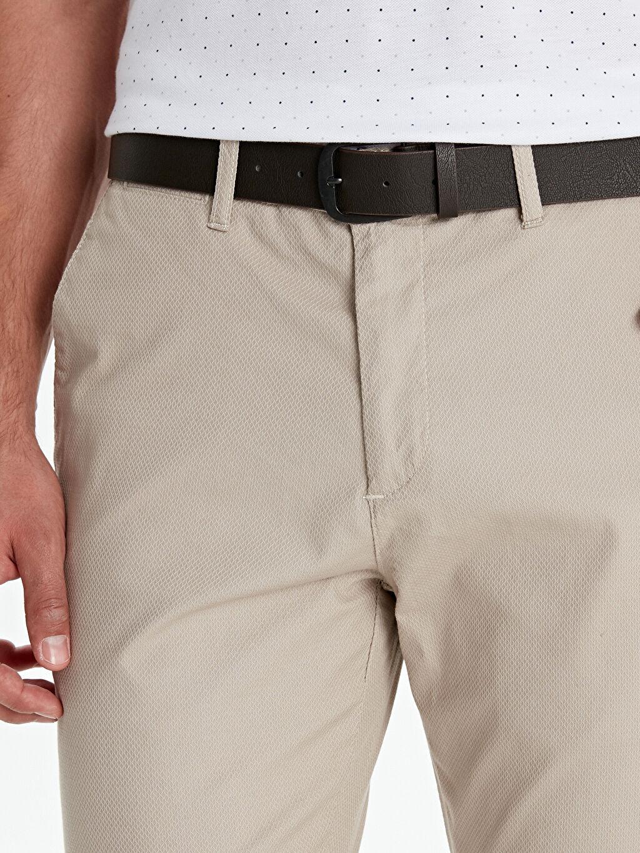 Standart Kalıp Armürlü Pantolon