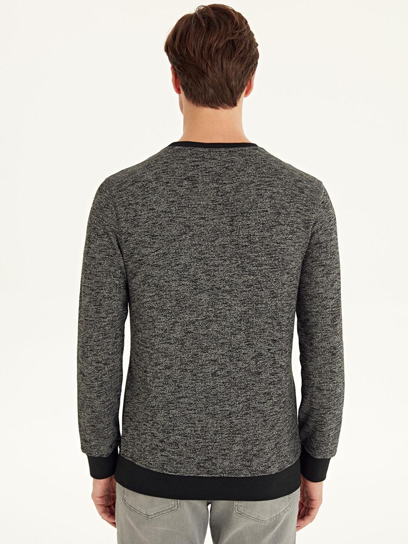 Erkek Rahat Kalıp Basic Sweatshirt