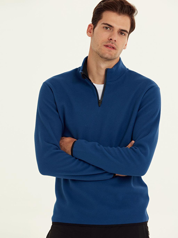 Mavi Aktif Spor Polar Sweatshirt 9W6891Z8 LC Waikiki