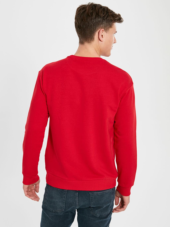 Erkek Aile Koleksiyonu Yılbaşı Temalı Sweatshirt
