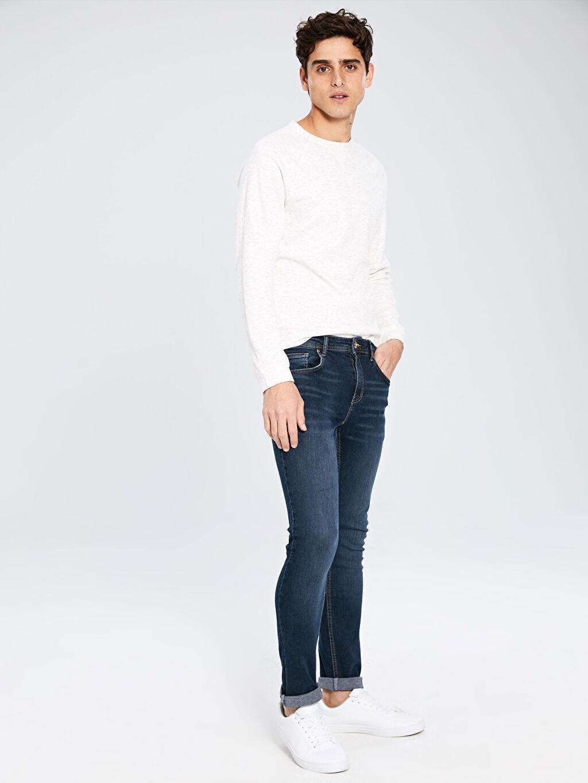 İndigo 750 Slim Fit Jean Pantolon 9WG105Z8 LC Waikiki