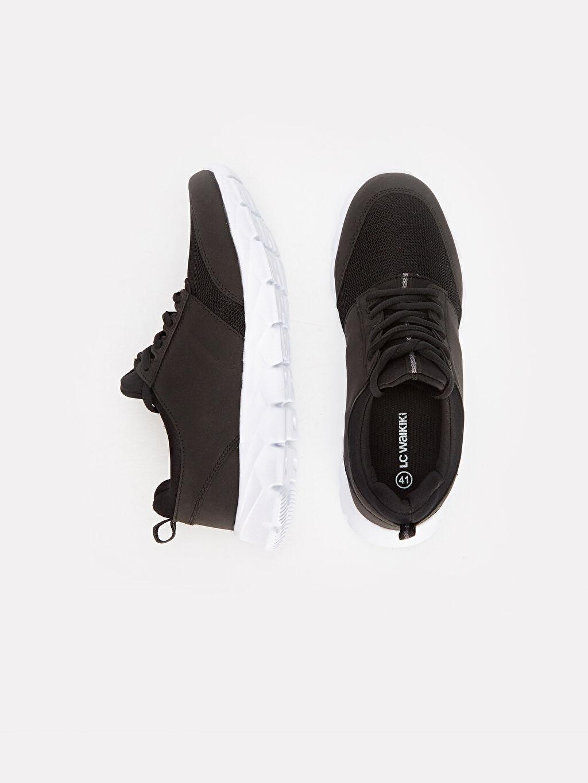 Tekstil malzemeleri Diğer malzeme (pvc)  Erkek Bağcıklı Spor Ayakkabı