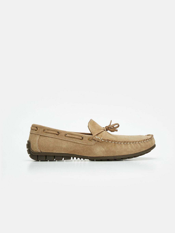 Bej Erkek Deri Loafer Ayakkabı 9WK022Z8 LC Waikiki