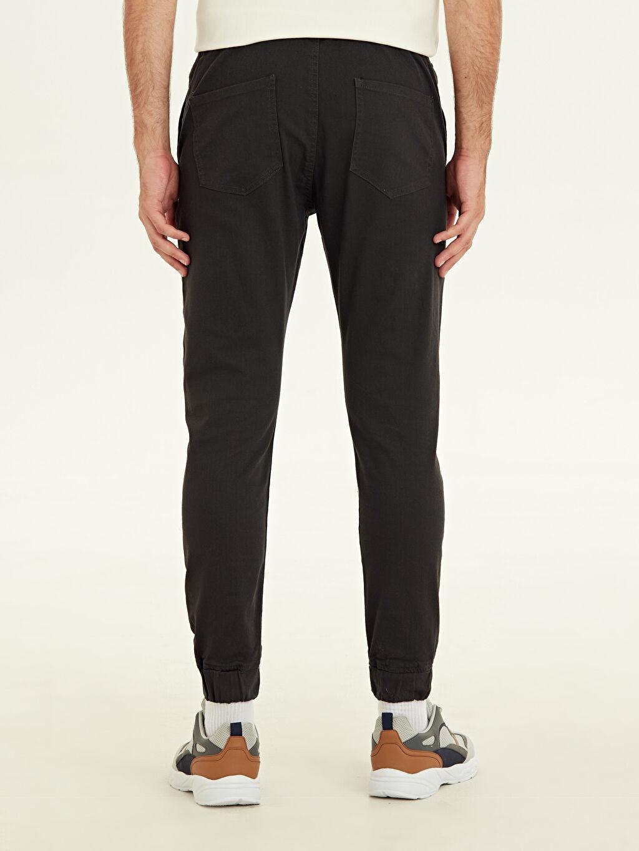 Erkek Slim Fit Bilek Boy Jogger Pantolon