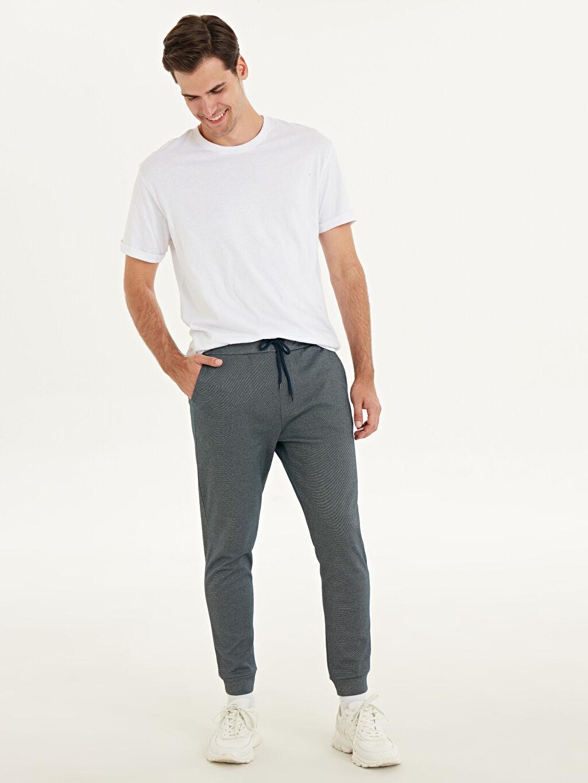 Lacivert Slim Fit Jogger Pantolon 9WO432Z8 LC Waikiki