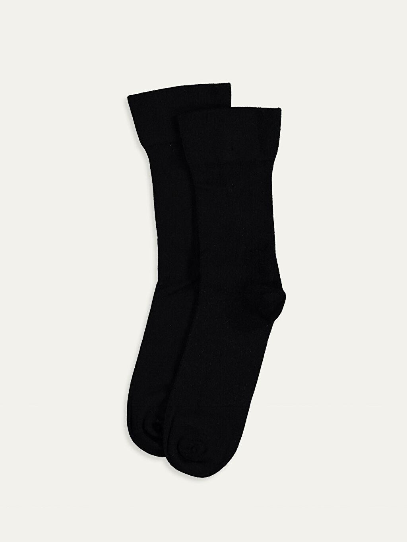 Siyah Soket Çorap 9WQ383Z8 LC Waikiki