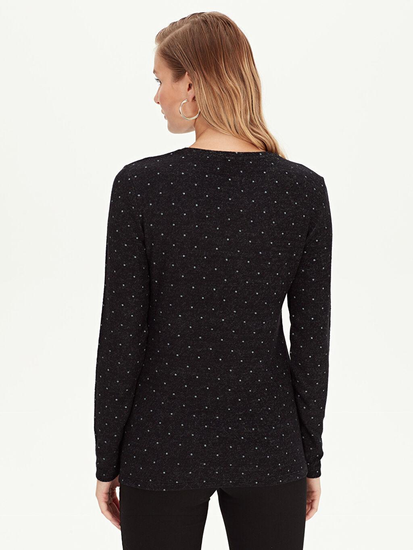 Kadın Puantiyeli Tişört