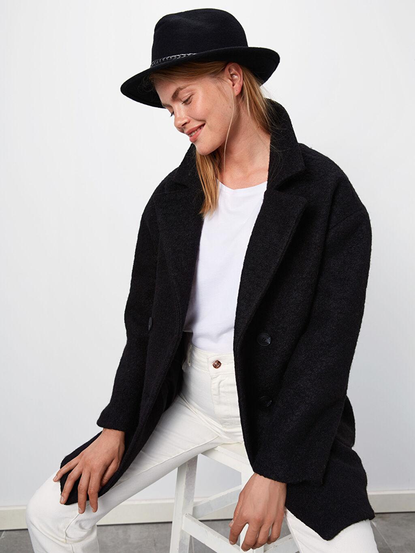 %100 Yün Şapka Fötr Şapka