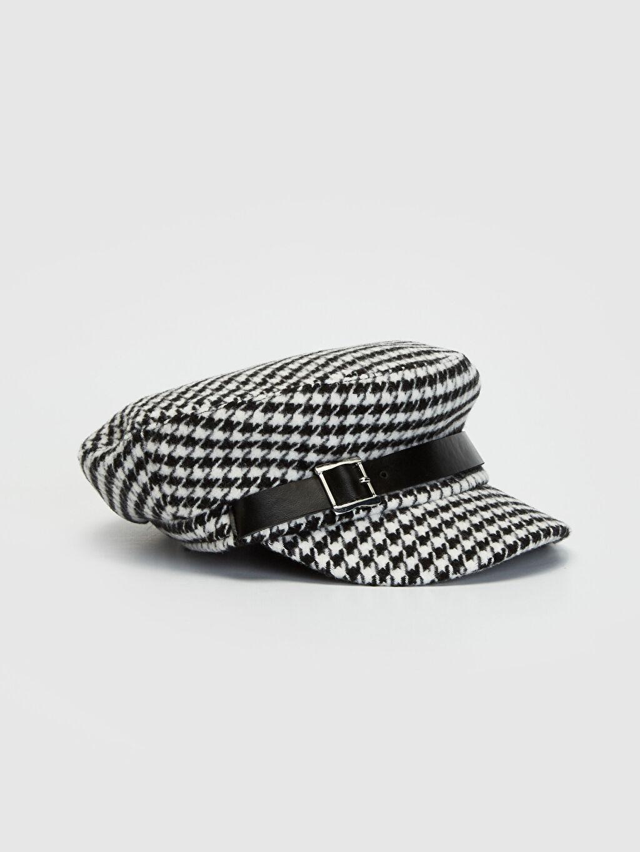 Siyah Kaşe Denizci Şapka 9W4997Z8 LC Waikiki