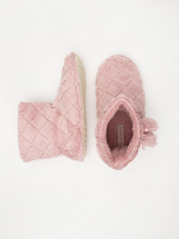Tekstil malzemeleri Tekstil malzemeleri Yuvarlak Burun 1 cm Ev Botu Düz Kısa Kadın Pelüş Ev Botu