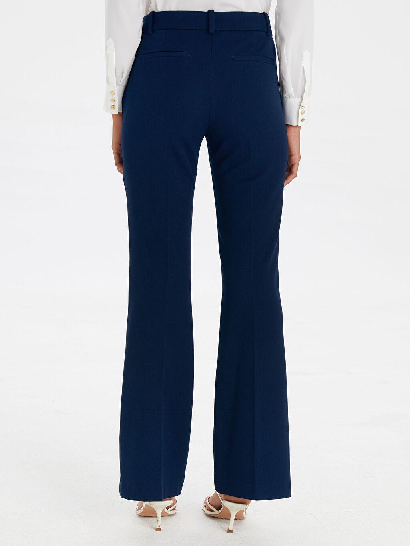 Kadın Normal Bel Esnek Gabardin Pantolon