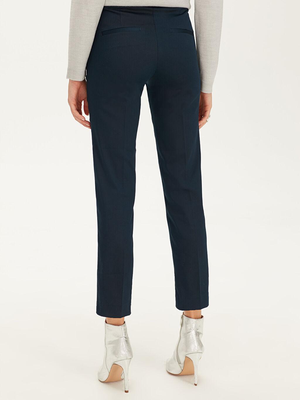 %66 Pamuk %30 Polyester %4 Elastan Esnek Gabardin Pantolon