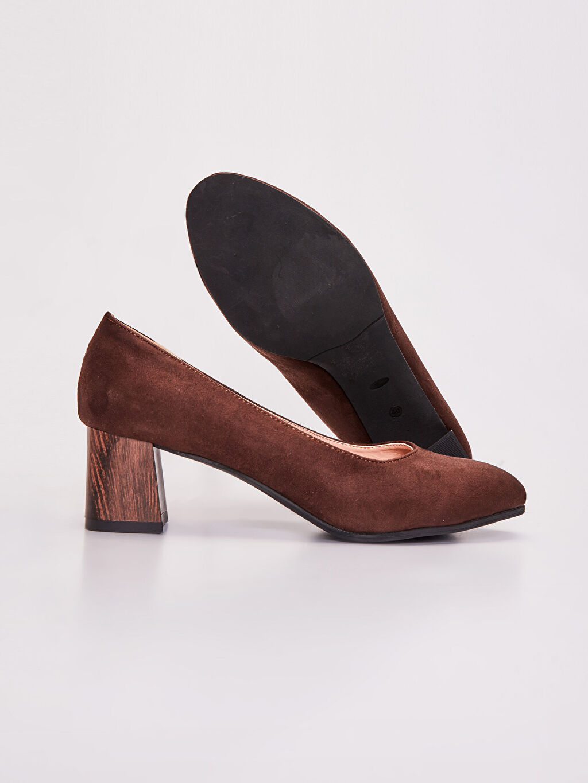 Kadın Kadın Süet Topuklu Ayakkabı