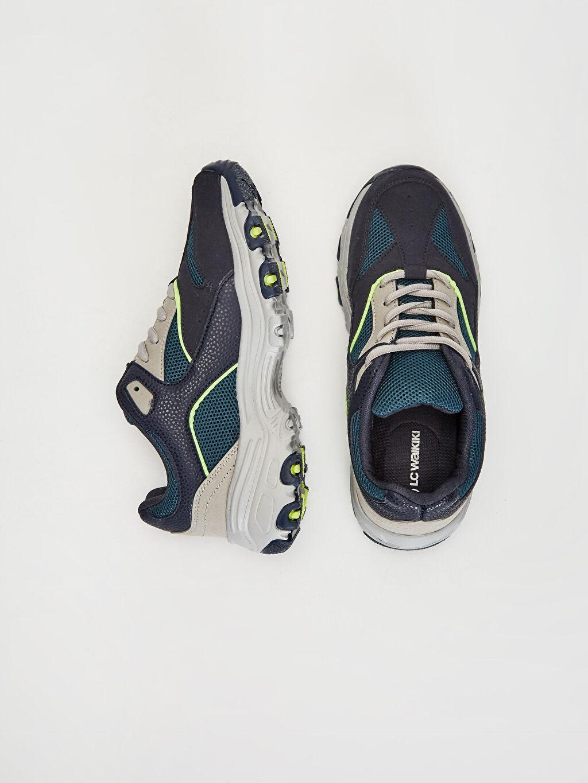 Tekstil malzemeleri Diğer malzeme (poliüretan) Tekstil malzemeleri Düz Standart Sneaker Yuvarlak Burun 3 cm Kadın Günlük Spor Ayakkabı