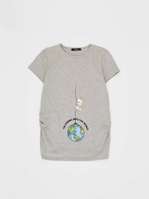 %49 Pamuk %47 Polyester %4 Elastan Tişört
