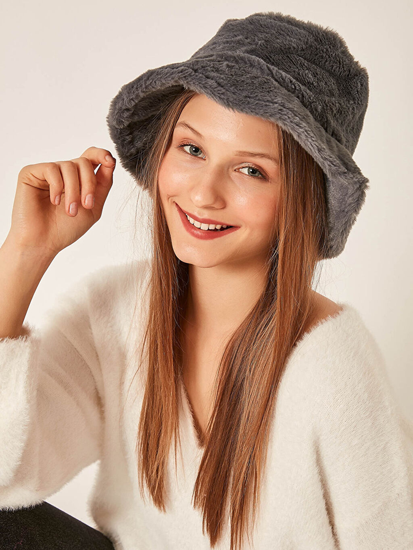 Kadın Axesoire Bucket Şapka