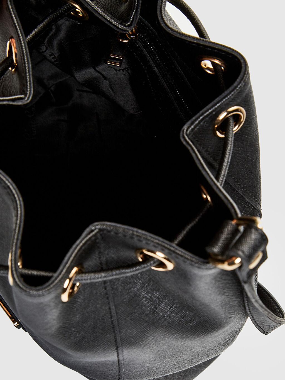 Siyah Pierre Cardin Büzgülü Çanta