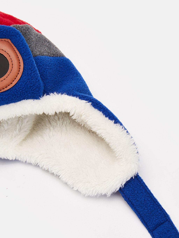 %100 Polyester %100 Polyester Şapka Kalın Avcı Pelüş Astar Erkek Çocuk Peluş Şapka