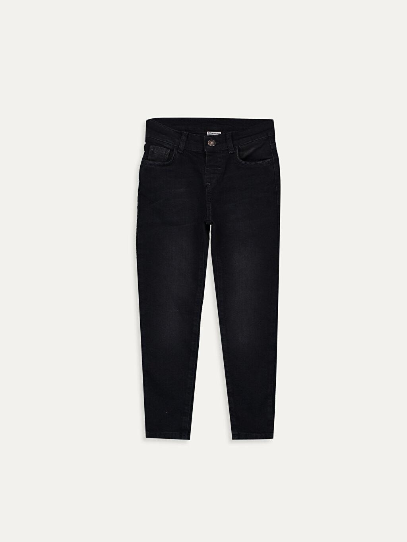 Siyah Erkek Çocuk Super Skinny Jean Pantolon 9W1035Z4 LC Waikiki