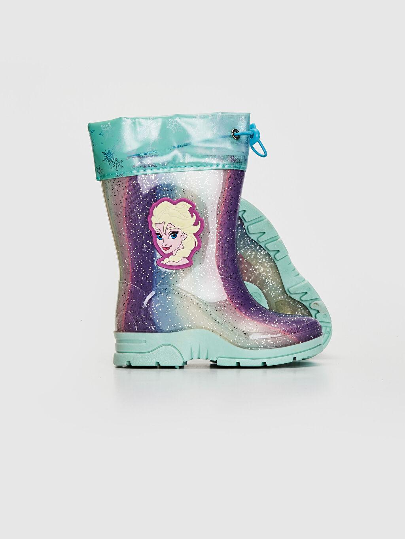 Kız Çocuk Kız Çocuk Elsa Frozen Baskılı Yağmur Botu