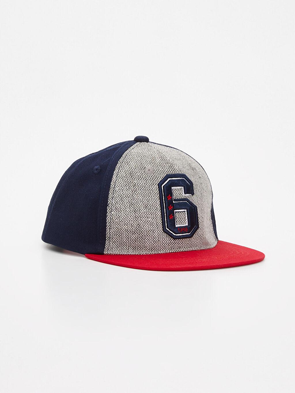 Kırmızı Erkek Çocuk Pamuklu Şapka 9W1622Z4 LC Waikiki