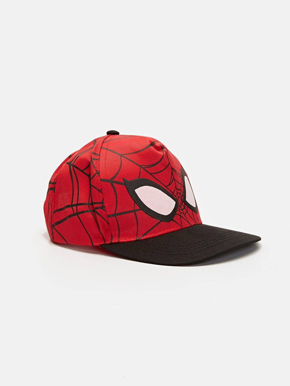 Kırmızı Erkek Çocuk Spiderman Şapka 9W1628Z4 LC Waikiki