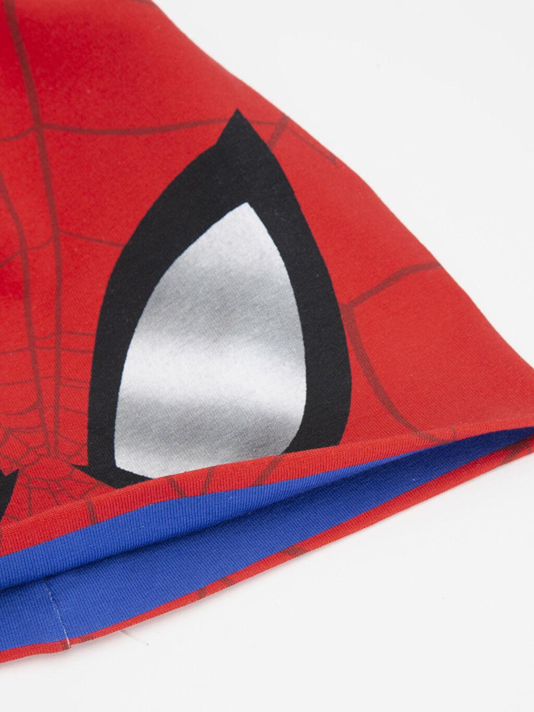 %94 Pamuk %6 Elastan %94 Pamuk %6 Elastan Penye Astar Bere İnce Erkek Çocuk Spiderman Baskılı Pamuklu Bere