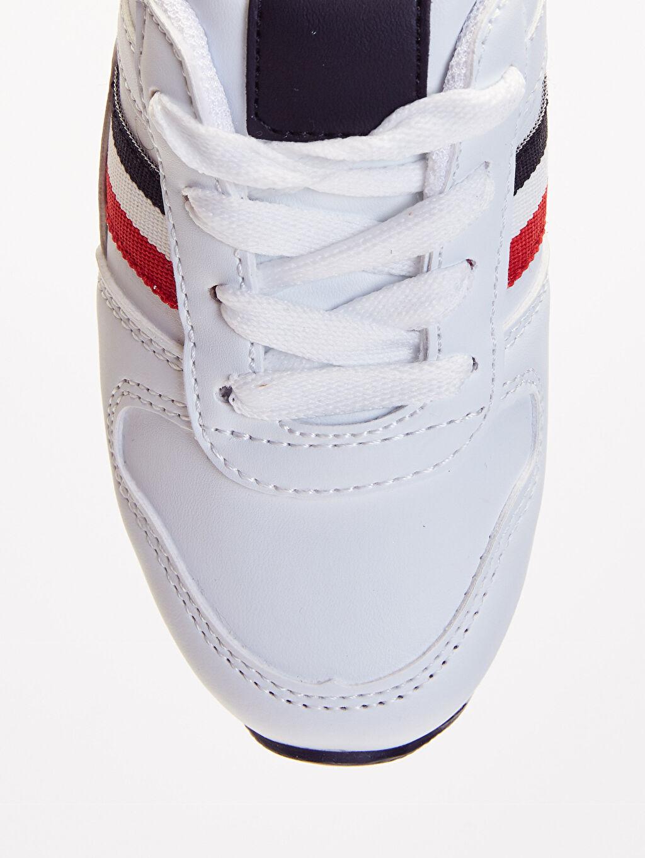 LC Waikiki Beyaz Erkek Çocuk Işıklı Spor Ayakkabı