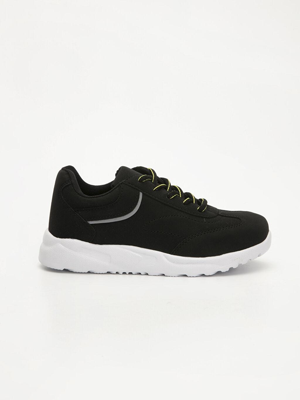 Siyah Erkek Çocuk Günlük Spor Ayakkabı 9W4100Z4 LC Waikiki