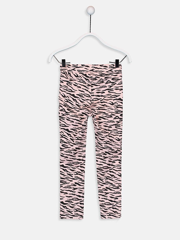 %68 Pamuk %29 Polyester %3 Elastan Normal Bel Dar Kız Çocuk Skinny Gabardin Pantolon