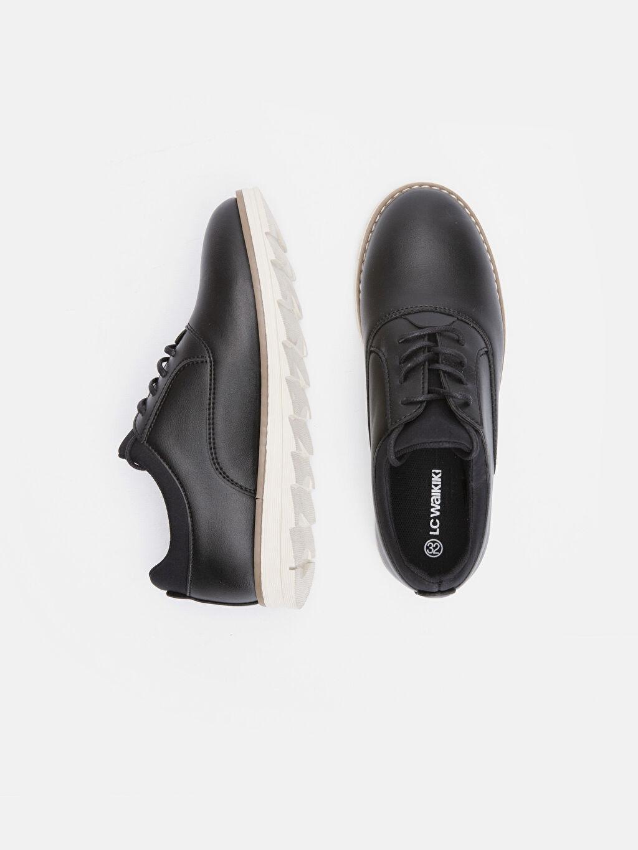 Tekstil malzemeleri Diğer malzeme (pvc) Tekstil malzemeleri Klasik Ayakkabı Kısa Penye Astar Bağcık Erkek Çocuk Klasik Ayakkabı
