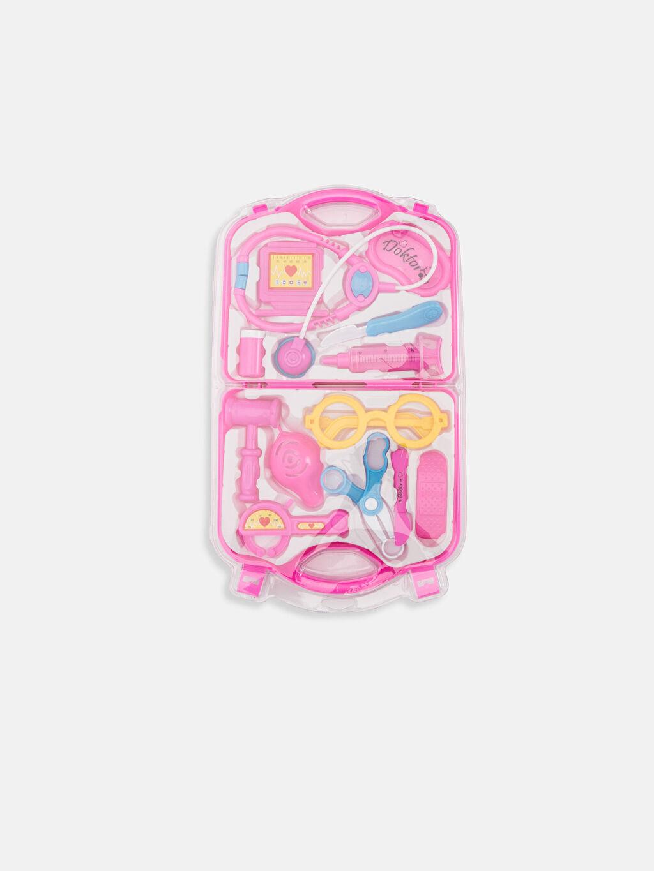 Pembe Kız Çocuk Oyuncak Doktor Seti 9W4876Z4 LC Waikiki