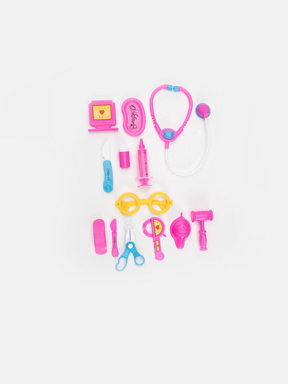 Plastik Oyuncak Doktor Set Kız Çocuk Oyuncak Doktor Seti