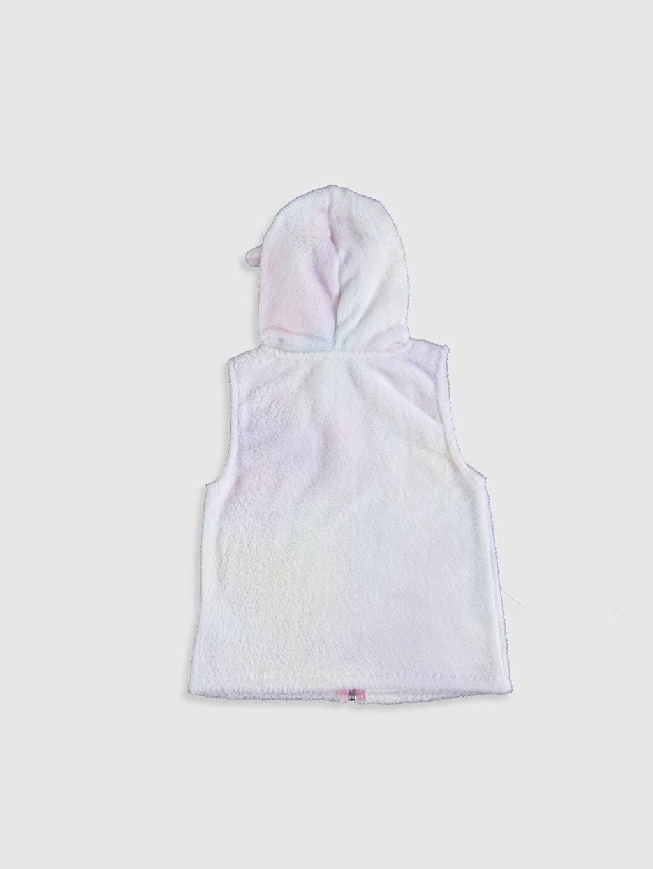 %100 Polyester Standart Polar Pijama Üst Kız Çocuk Polar Yelek