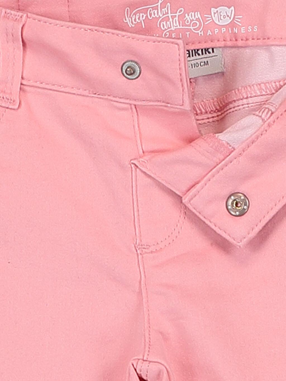 %68 Pamuk %29 Polyester %3 Elastan Kız Çocuk Skinny Pantolon