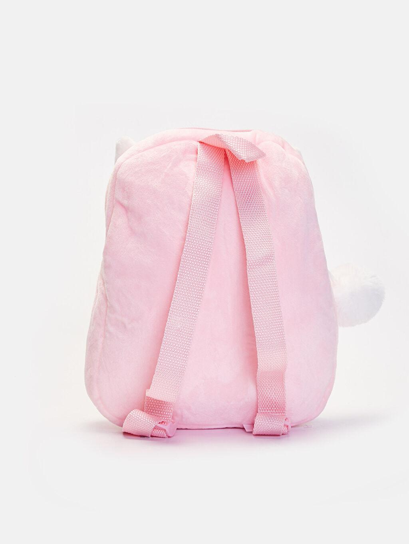 %100 Polyester %100 Polyester Günlük Çanta Sırt Çantası Pelüş Kız Çocuk Peluş Sırt Çantası