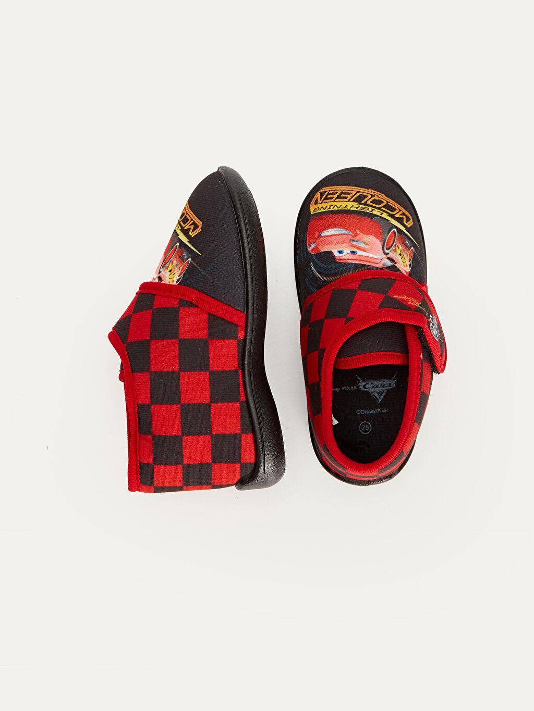 Tekstil malzemeleri Tekstil malzemeleri Günlük Cırt Cırt Kısa Penye Astar Cars Panduf Erkek Çocuk McQueen Baskılı Ev Ayakkabısı