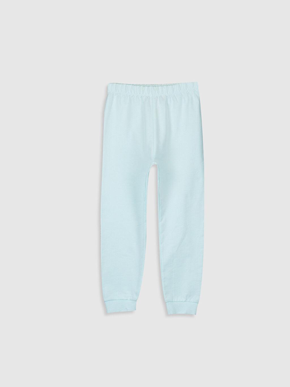 %100 Pamuk Kız Çocuk Elsa Pamuklu Pijama Takımı