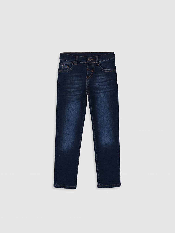İndigo Erkek Çocuk Slim Jean Pantolon 9WH317Z4 LC Waikiki