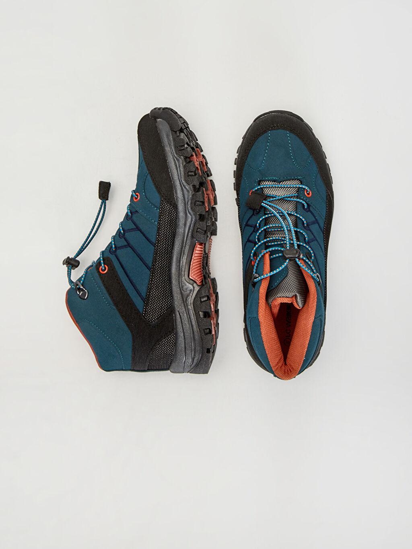 Tekstil malzemeleri Diğer malzeme (pvc) Tekstil malzemeleri Midi Günlük Trekking Bot Penye Astar Bağcık Erkek Çocuk Trekking Ayakkabı