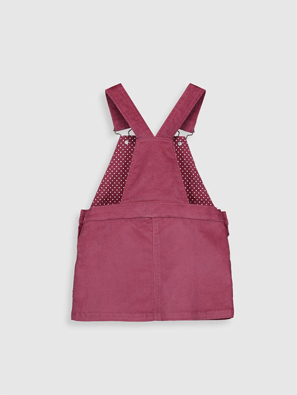 Kız Çocuk Kız Çocuk Çift Yönlü Payetli Kadife Elbise