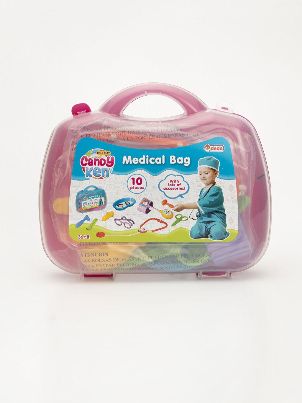 Pembe Kız Çocuk Oyuncak Doktor Seti           9WI653Z4 LC Waikiki