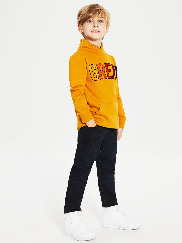 İndigo Erkek Çocuk Slim Jean Pantolon 9WJ215Z4 LC Waikiki