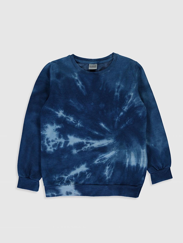 Mavi Erkek Çocuk Batik Desenli Sweatshirt 9WJ332Z4 LC Waikiki