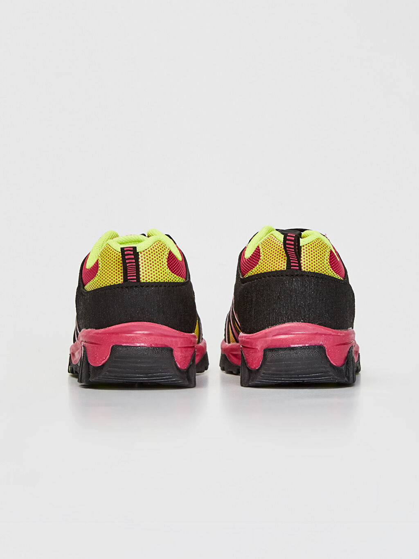 Kız Çocuk Kontrast Renkli Trekking Ayakkabı