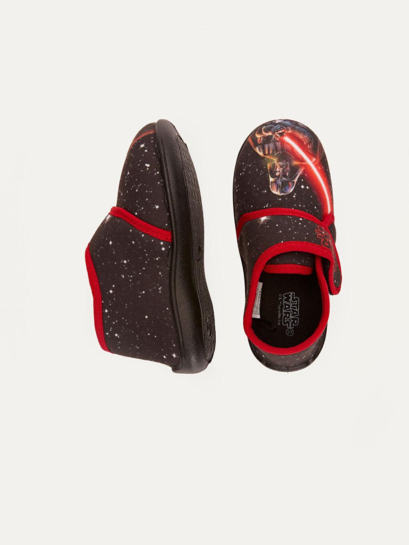 Tekstil malzemeleri Tekstil malzemeleri Star Wars Cırt Cırt Kısa Penye Astar Panduf Erkek Çocuk Star Wars Baskılı Ev Ayakkabısı